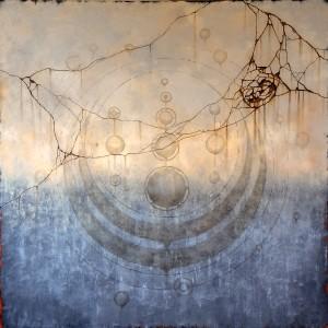 Obra crepuscular reflejo de la piedra (alta)